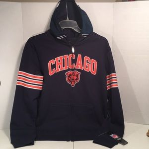 NWT Chicago Bears ZIP Up Hoodie - Youth